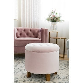 Top Product Reviews For Homepop Velvet Tufted Round