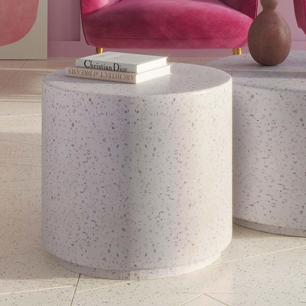 Terrazzo Light Speckled Coffee Table. Opens flyout.