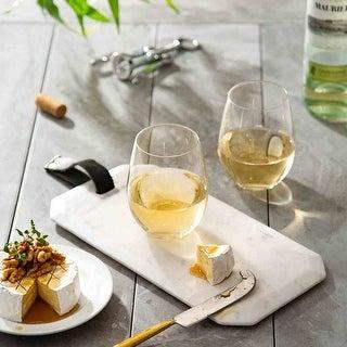Link to JoyJolt Spirits Stemless 19 oz Wine Glass, Set of 4 Similar Items in Glasses & Barware