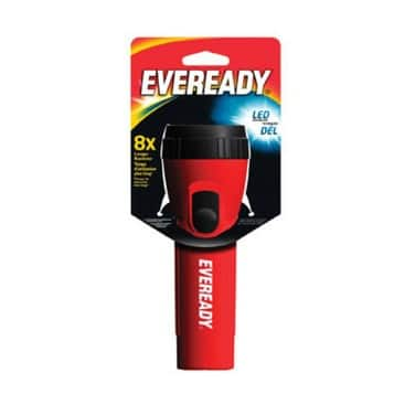 Eveready Battery EVEL15BP Led Economy Flashlight, Assorted
