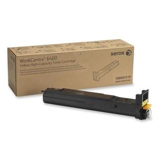 Xerox 106R01319 Xerox High Capacity Yellow Toner Cartridge - Yellow - Laser - 1 Each