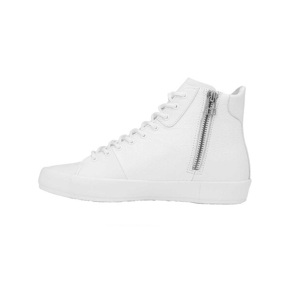 Creative Recreation Womens Carda Hi Sneakers in White Leather