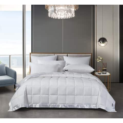 Beautyrest Tencel White Down Blanket