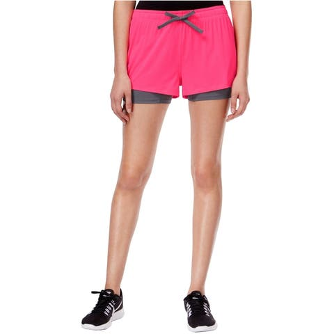 Jessica Simpson Womens The Warm Up Athletic Workout Shorts