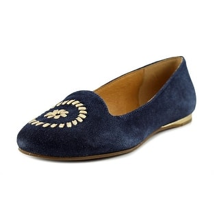 Jack Rogers Rebecca Round Toe Suede Flats|https://ak1.ostkcdn.com/images/products/is/images/direct/52e7de7699c4919fe157309a57f1b5b2ba73f41a/Jack-Rogers-Rebecca-Women-Round-Toe-Suede-Blue-Flats.jpg?impolicy=medium