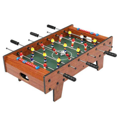 27-Inch Tabletop Foosball Table, with 2 Balls and 2 Manual Scorers