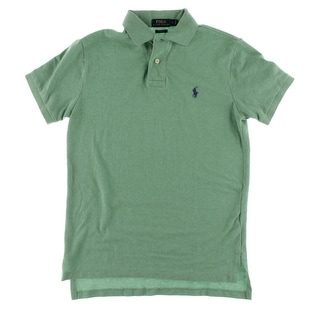 Polo Ralph Lauren Mens Casual Shirt Mesh Polo - S