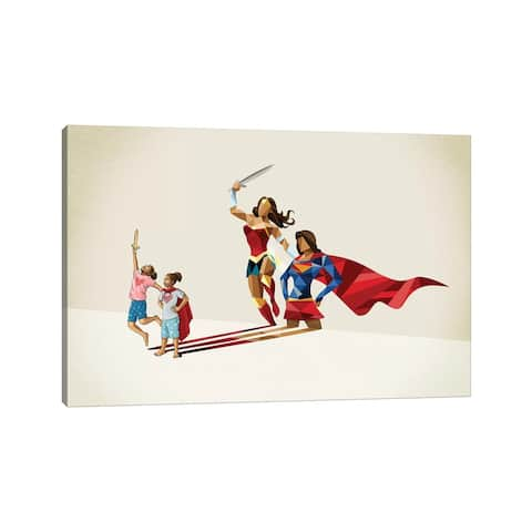 """iCanvas """"Sisters In Arms"""" by Jason Ratliff Canvas Print"""