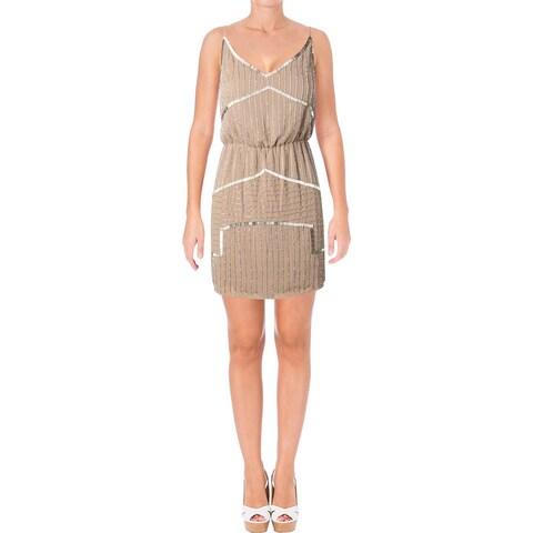 Aqua Womens Destiny Cocktail Dress Sleeveless Above Knee