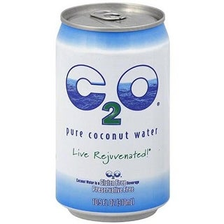 C2O Pure Coconut Water - Original Pure Coconut Water ( 24 - 10.5 oz cans)