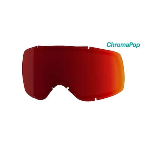 c130789af9 Smith Optics Showcase OTG Ski Goggle - Replacement Lens - ChromaPop Sun Red  Mirror - SW6CPR