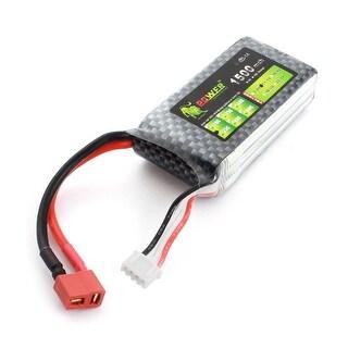 11.1V 1500mAh 35C Lithium Polymer Reusable 3S Li-po Battery for GPS RC Model