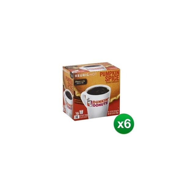ab0df71af6af6 Dunkin' Donuts Pumpkin Spice Flavored Coffee, K-Cup Pods for Keurig  Brewers-96ct
