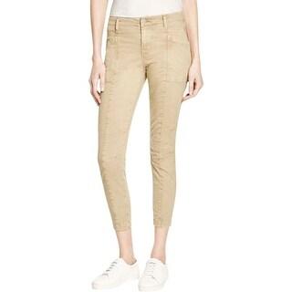J Brand Womens Byrnes Cargo Jeans Skinny Mid-Rise