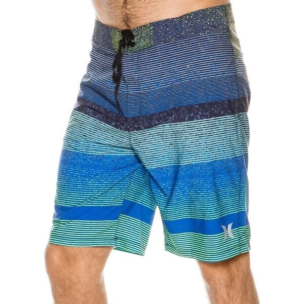 0c9c3a0723 Shop Hurley NEW Blue Mens Size 34 Swimwear Phantom Zion Surf Board ...