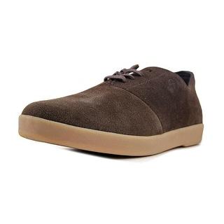 HUF Gillette Men Round Toe Suede Brown Sneakers