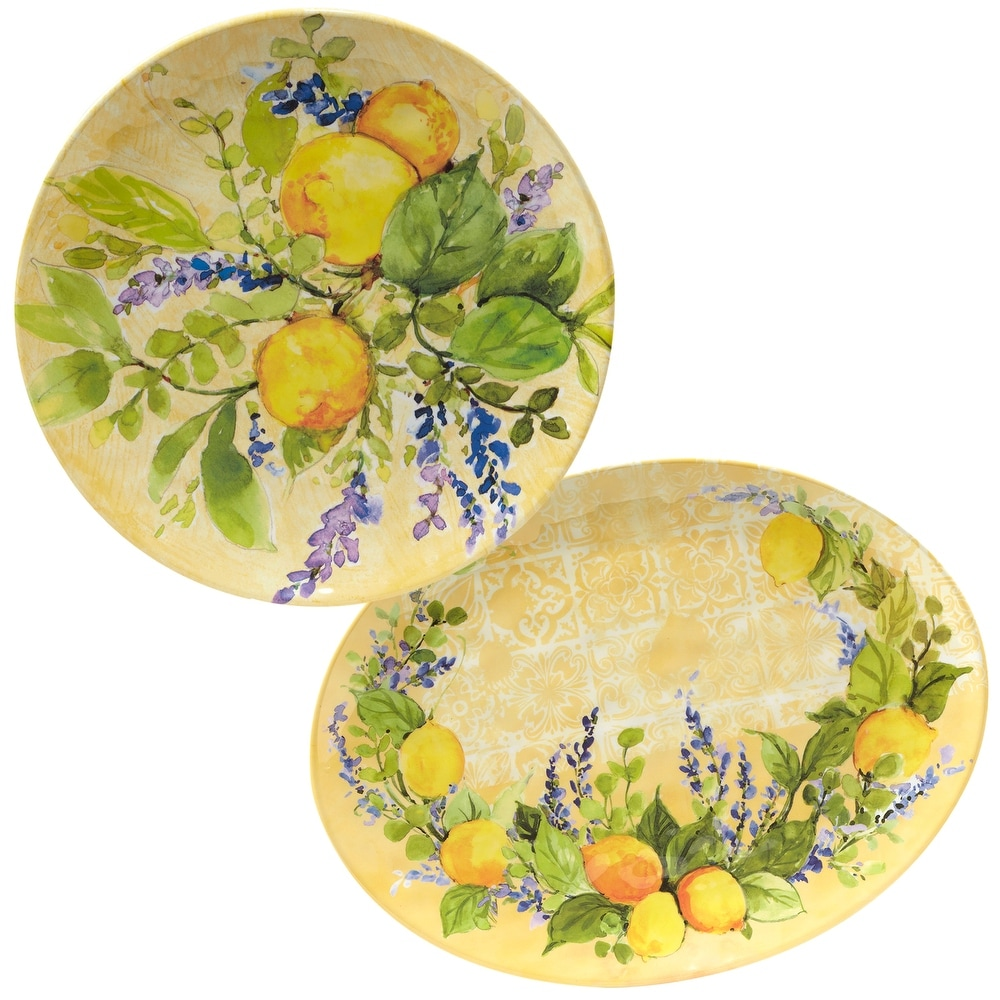One Size Multicolored,22786 Certified International Home for Christmas Round Platter 13 Servware Serving Accessories