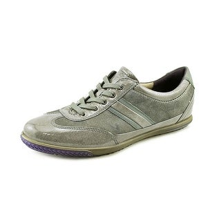 Ecco Spin Lace Women  Round Toe Leather  Sneakers