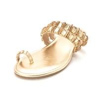 ca9f3220500 Shop Thalia Sodi Womens Jaynne Toe Ring Flat Sandals Open Toe Casual ...