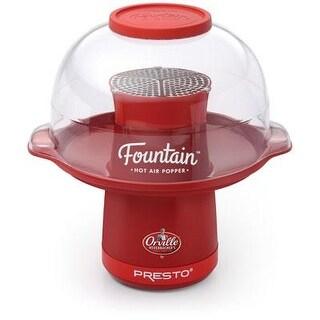 Presto 04868 Hot Air Popcorn Popper - Countertop - Red
