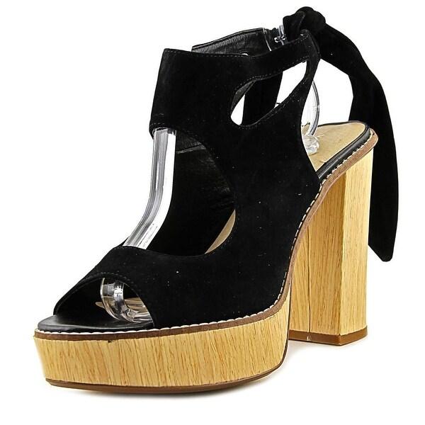 Very Volatile Rissa Women Black Sandals