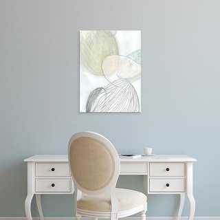 Easy Art Prints June Erica Vess's 'Sea Pebbles I' Premium Canvas Art