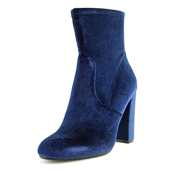 Steve Madden Brisk Round Toe Suede Ankle Boot