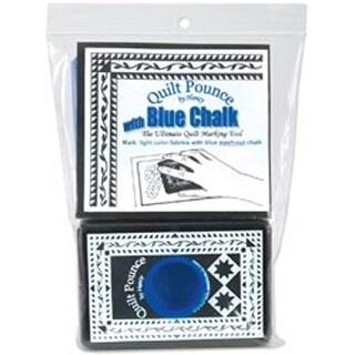 4Oz Blue - Quilt Pounce Pad W/Chalk Powder