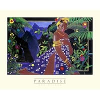 ''Paradise'' by Rob Wilson African American Art Print (22 x 28 in.)