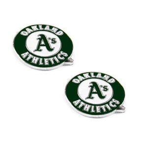 Oakland A's Athletics Post Stud Logo Earring Set MLB Charm