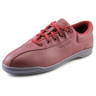 Easy Spirit Ap1 Women N/S Round Toe Leather Red Sneakers