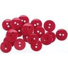 """Cranberry 5/8"""" - Small Color Buttons 20/Pkg"""