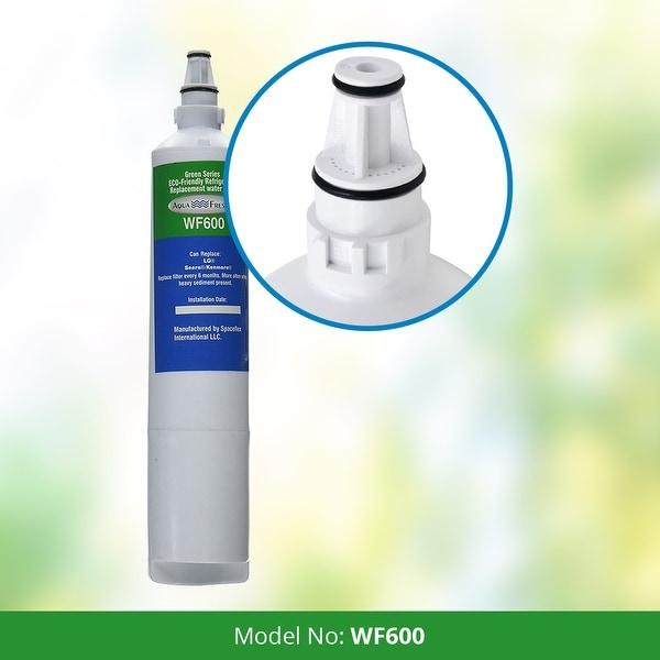 2 Pack Fits LG RFC1000A Refrigerators Aqua Fresh Replacement Water Filter