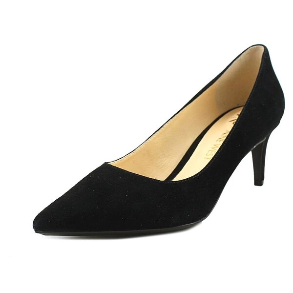 a85306e98f Shop Nine West Soho 9x9 Women Pointed Toe Suede Black Heels - Free ...
