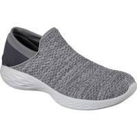 Skechers Women's YOU Slip-On Sneaker Charcoal