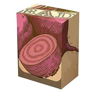 BAD BEETS Deck BOX Legion Supplies- Standard Magic the Gathering Size - Break out the BAD BEATS on your opponent!