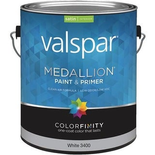 Valspar Int Sat White Paint 027.0003400.007 Unit: GAL