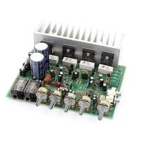 Unique Bargains AC 24V 250W+250W LFE Hi-Fi 4 Channel Audio Stereo Power Amplifier Board for Car