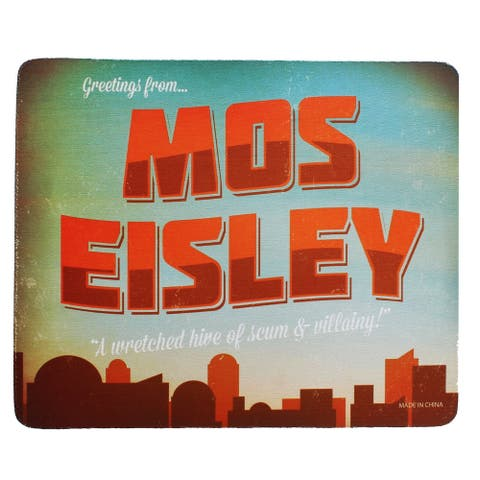 Mos Eisley Mouse Pad - Multi