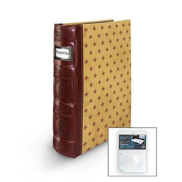 Shop Bellagio-Italia DVD/CD Storage Tuscany Crimson Binder