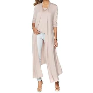 Nene Leakes NEW Pink Rose Womens Size XS Glam Maxi Cardigan Sweater|https://ak1.ostkcdn.com/images/products/is/images/direct/52fb93cedaa2bfec4dcefcc030d9c5c6e240c0d5/Nene-Leakes-NEW-Pink-Rose-Womens-Size-XS-Glam-Maxi-Cardigan-Sweater.jpg?impolicy=medium