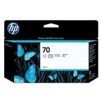 HP 70 130-ml Light Gray DesignJet Ink Cartridge (C9451A) (Single Pack)