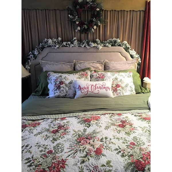 Shop Jardin Rouge Quilt Free Shipping Today Overstock Com 10539723