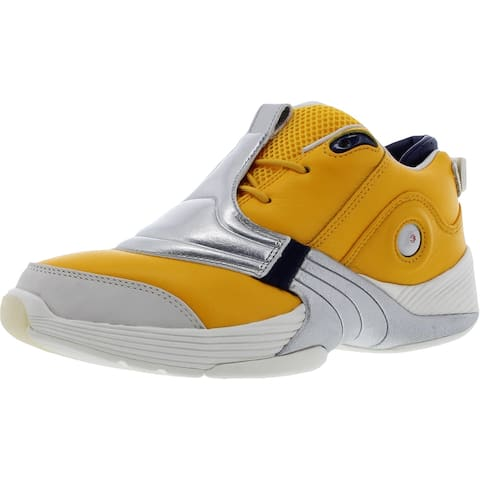 Reebok Mens Basketball Running Shoes Lifestyle Fitness - Gold