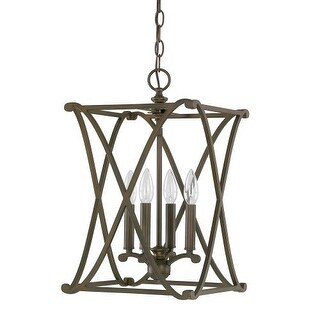 "Donny Osmond Home 9691 4 Light 11.75"" Wide Pendant from the Alexander Collection"
