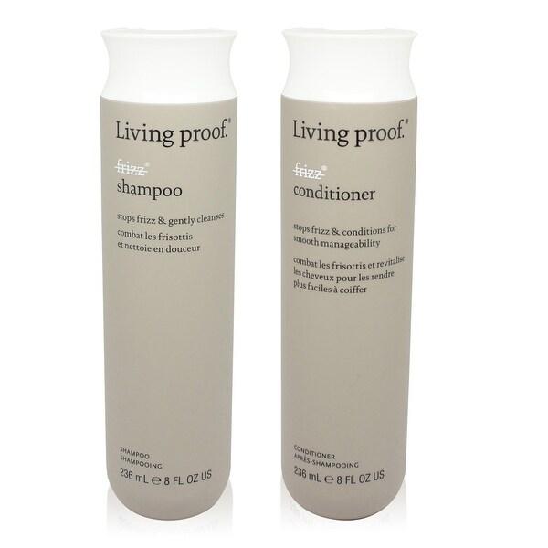 Living Proof No Frizz Shampoo & Conditioner 8 Oz