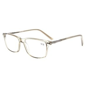 826d6d16a7125 Shop Eyekepper TR90 Frame Classic Spring Hinges Reading Glasses Grey +1.0 -  Free Shipping On Orders Over  45 - Overstock.com - 15946875