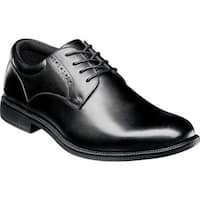 Nunn Bush Men's Nantucket Plain Toe Oxford Black Leather