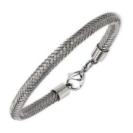 Stainless Steel Wire 8in Bracelet