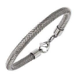 Stainless Steel Wire 8in Bracelet